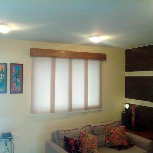 cortina panel oriental traslucido